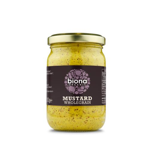 Organic Wholegrain Mustard - 200G