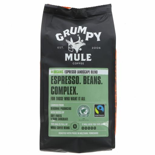 Organic Espresso - Landscape Blend Coffee - 227G