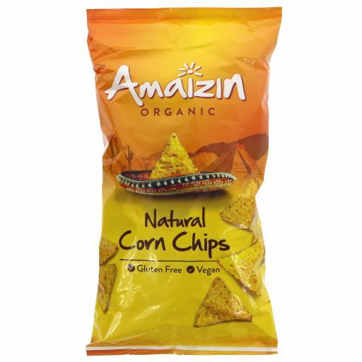Organic Natural Chips - 250G