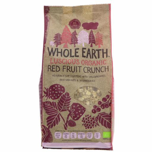 Organic Red Fruit Crunch - 450G