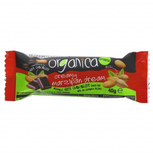 Organic Creamy Marzipan Dream Bar - 40G