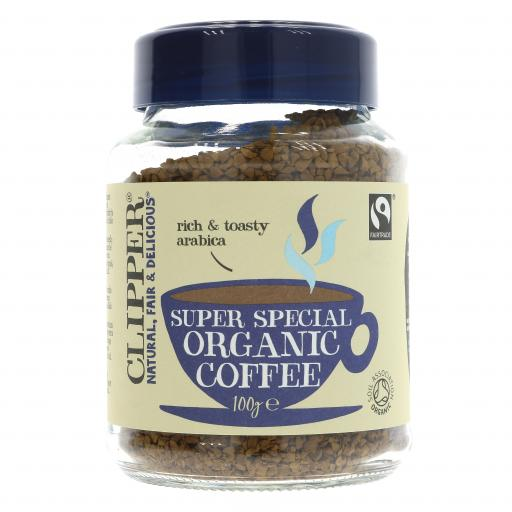 Fairtrade Organic Special Instant Coffee - 100G