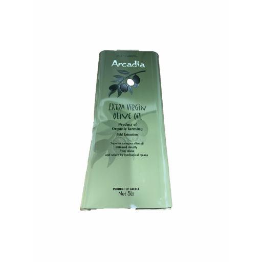 Arcadia org virgin oil - 5L