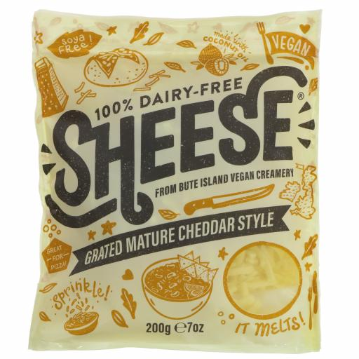 Grated Mature Cheddar - 200G