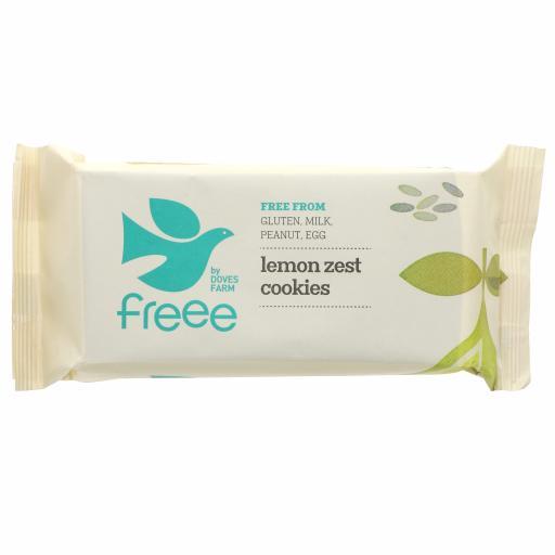 Organic Gluten Free Lemon Zest Cookies - 150G
