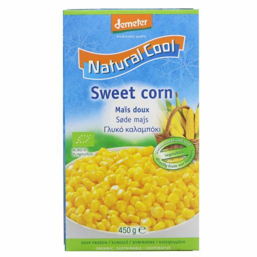 Organic Sweetcorn - 450G