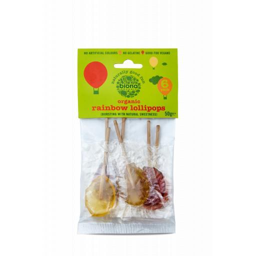 Organic Vegan Fruit Lollies - 6