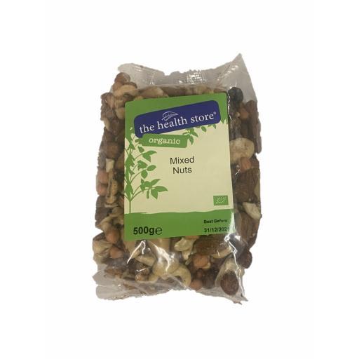 Organic Mixed Nuts - 500G