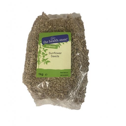 Organic Sunflower Seeds - 1KG