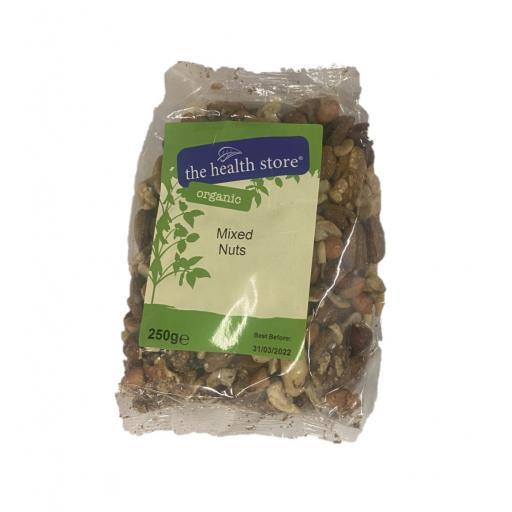 Organic Mixed Nuts - 250G