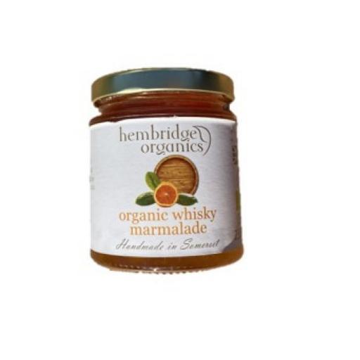 Organic whisky marmalade - 200G