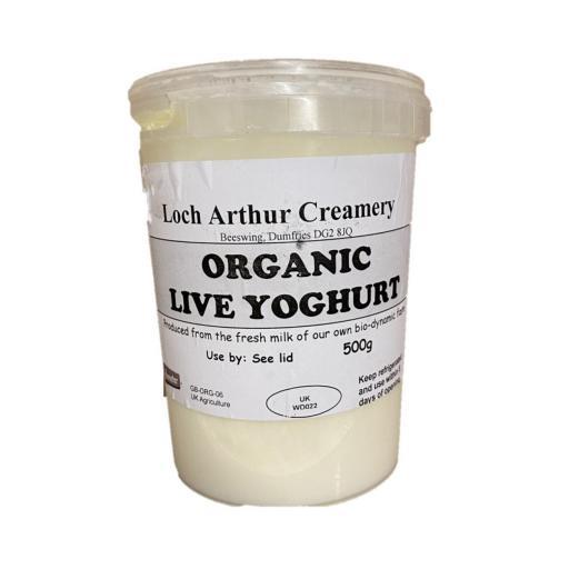 Organic Yoghurt Natural - 500G