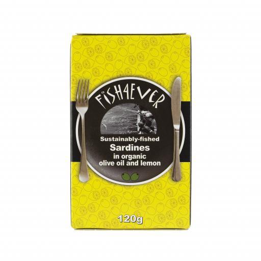 Sardines in Olive Oil&Lemon - 120G