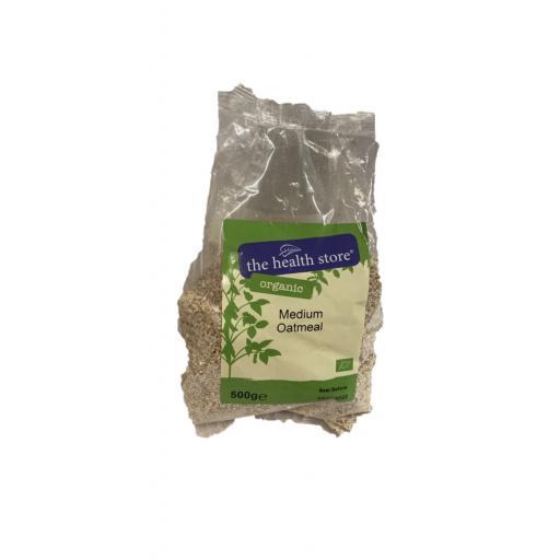 Organic Medium Oatmeal - 500G