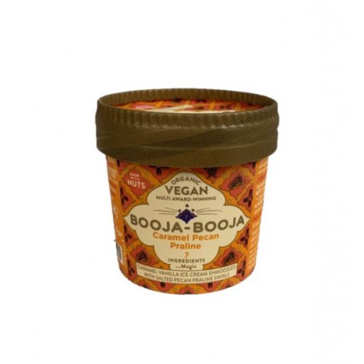 Organic Vegan Caramel Pecan Praline Ice Cream - 110ML