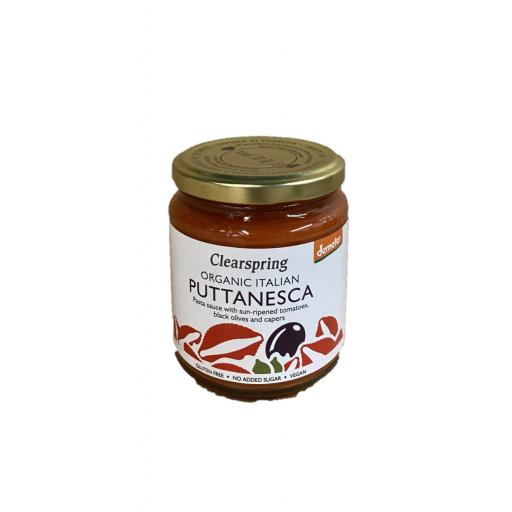 Organic Puttanesca Sauce - 300G