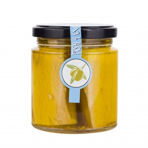 White Tuna Fillets in Olive Oil - 220G