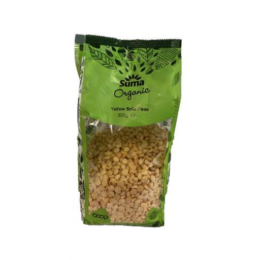 Organic Yellow Split Peas - 500G