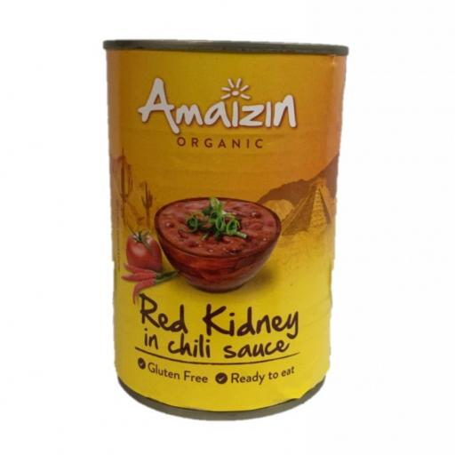 Organic Red Kidney in Chilli - 400G