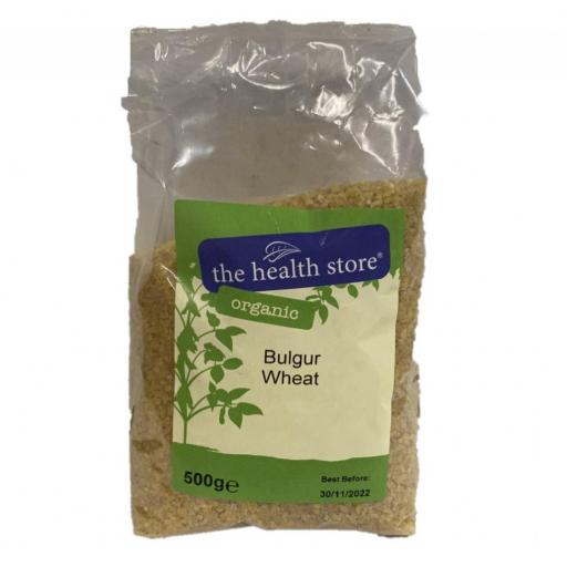 Organic Bulgar Wheat - 500G