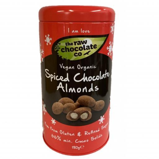 Organic Spiced Chocolate Almond 180G