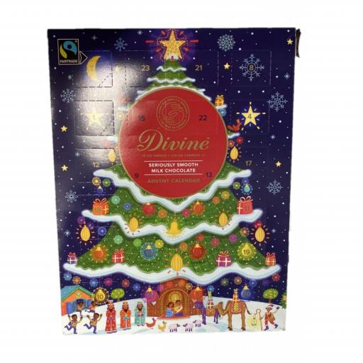 Milk Chocolate Advent Calendar 85g