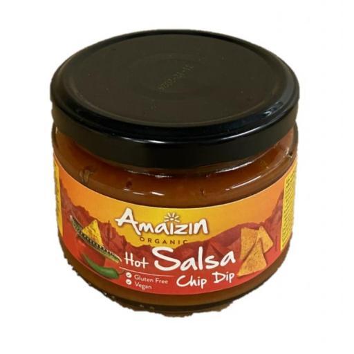 Organic Hot Salsa Dip - 260G